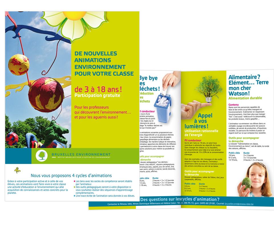 Campagne Bruxelles Environnement