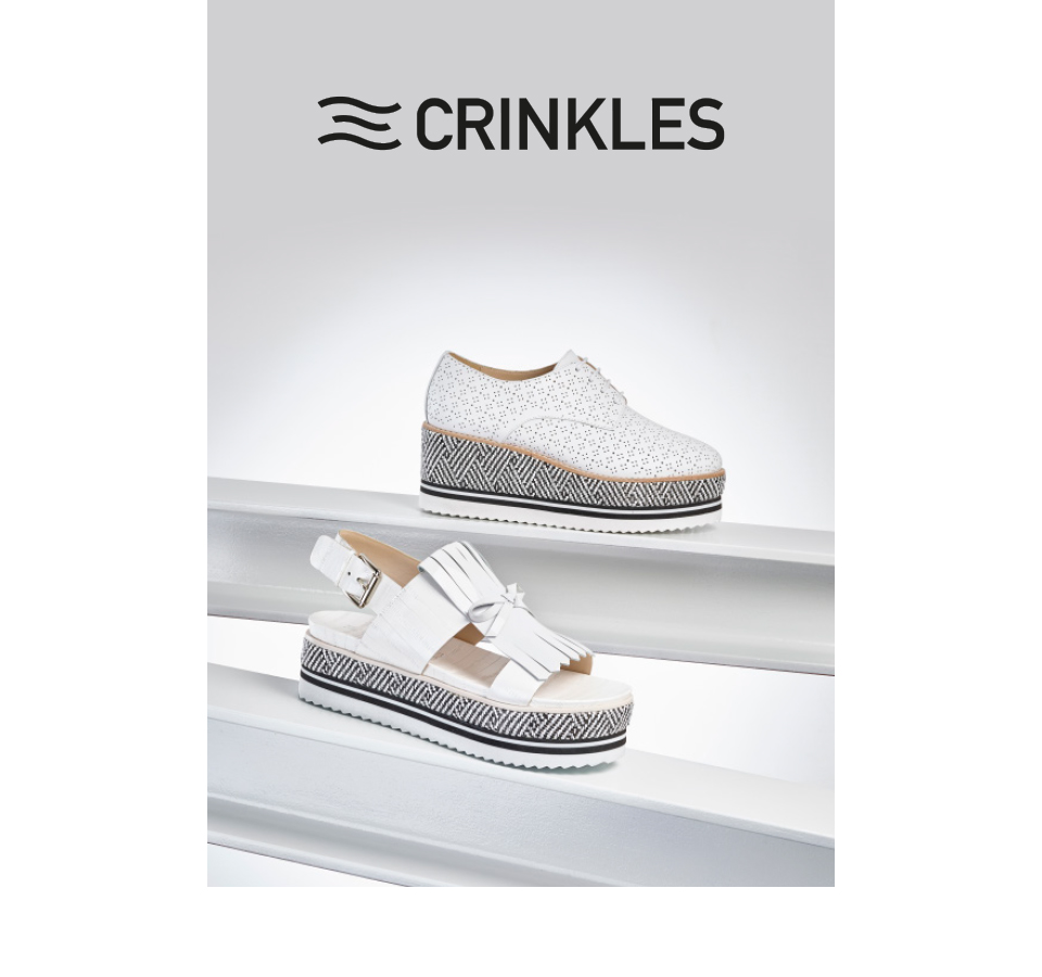 Photo chaussures Crinkles