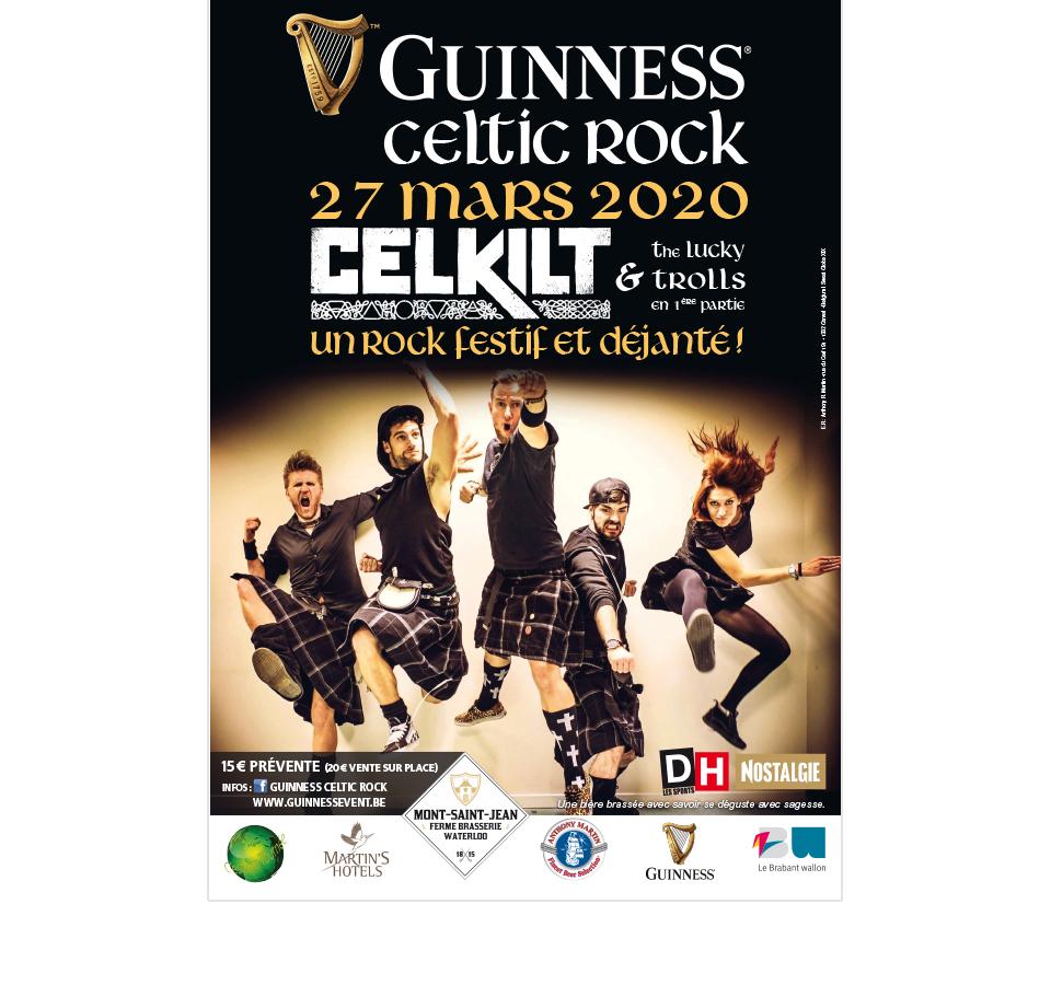 Poster Guinness Celtic Rock