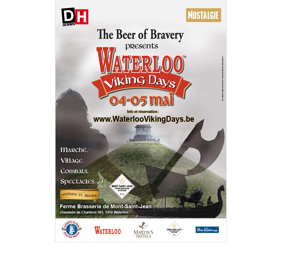 Poster Waterloo Viking Days