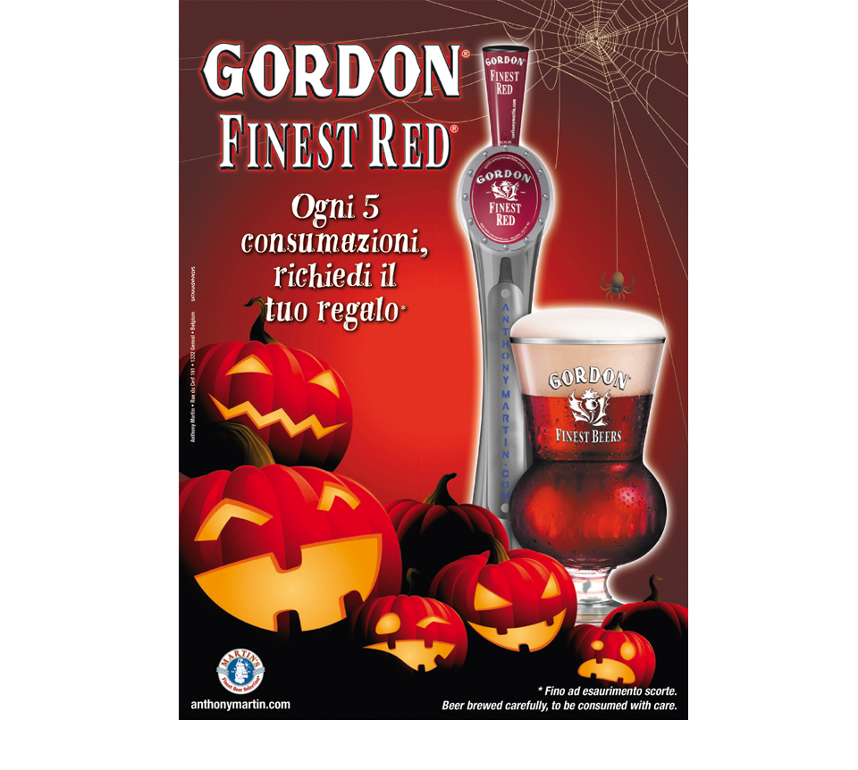Poster Gordon Halloween